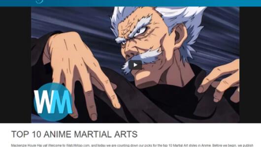 幽遊白書やジョジョ、北斗の拳も! 海外サイトが発表した「アニメの武道ランキングトップ10」が話題