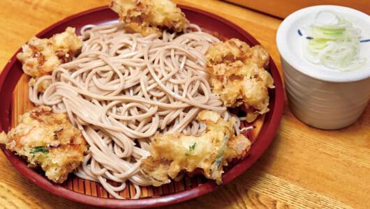歌舞伎とセットで楽しむ「立ち食いそば」といえば? 甘めのつゆが抜群に合う「もりかき」で著名な東銀座の名店