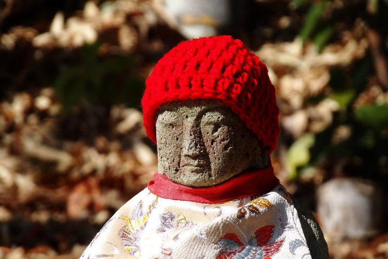 46886763 - jizo statues
