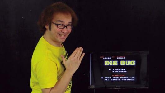 ゲーム芸人が名作「ディグダグ」で、縛りアリのクリアに挑戦してみた【ゲーム芸人フジタの挑戦】