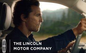 オスカー俳優、マコノヒーを起用したリンカーンの新CMが公開