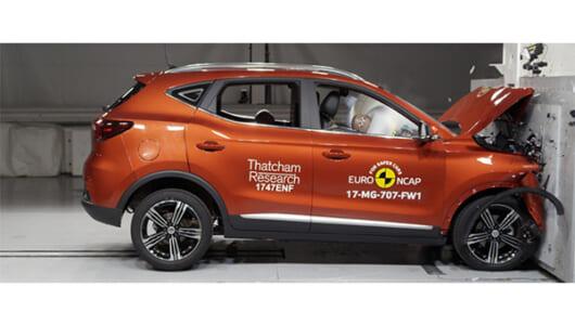 どこかで見たような……元英国の名門、MG最新SUVの安全性は?