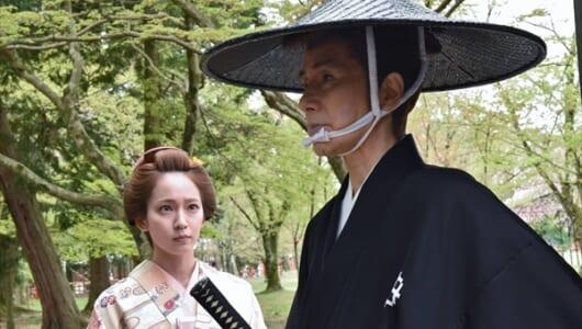 吉岡里帆、田村正和との共演は「一生忘れることのない時間」『眠狂四郎 The Final』で時代劇初挑戦
