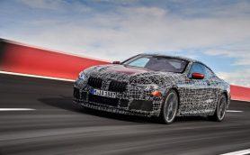 正式デビューに先駆け、BMW8シリーズ・クーペのテスト模様が公開!