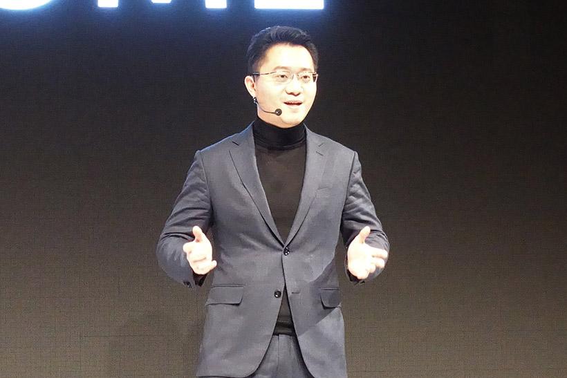 「OPPOにとって日本市場への参入は、先進的な製品で市場を作ってきた日本企業から学べる良い機会だ」と語るOPPO Japan 代表取締役 宇辰(トウ・ウシン)氏