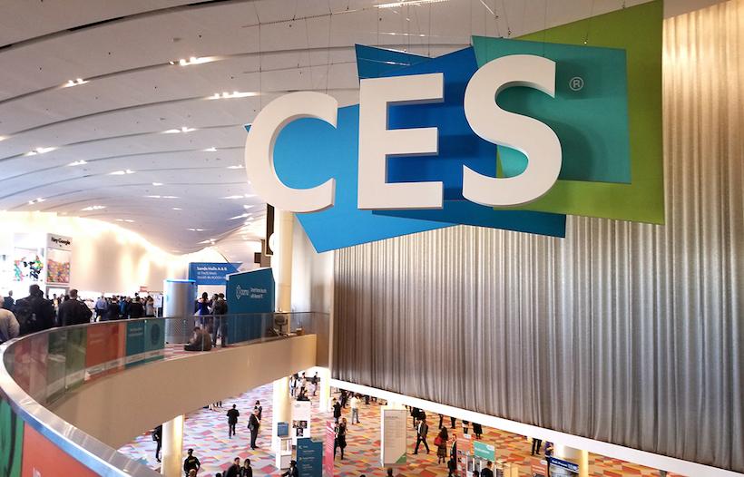 ↑毎年、年明けに開催されている展示会「CES」