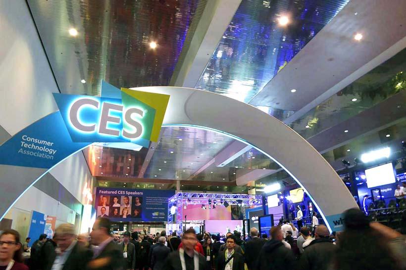 ↑4日間の開催で約20万人が集まる世界最大級のIT家電ショー「CES(セス)」。今年はCESが積み上げてきた51年の歴史の中で過去最大の開催規模となったという