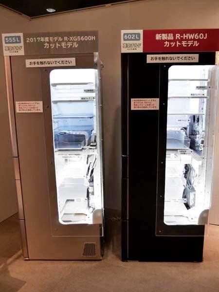↑新モデルは冷却ファンと冷却器が2個ずつ搭載されています