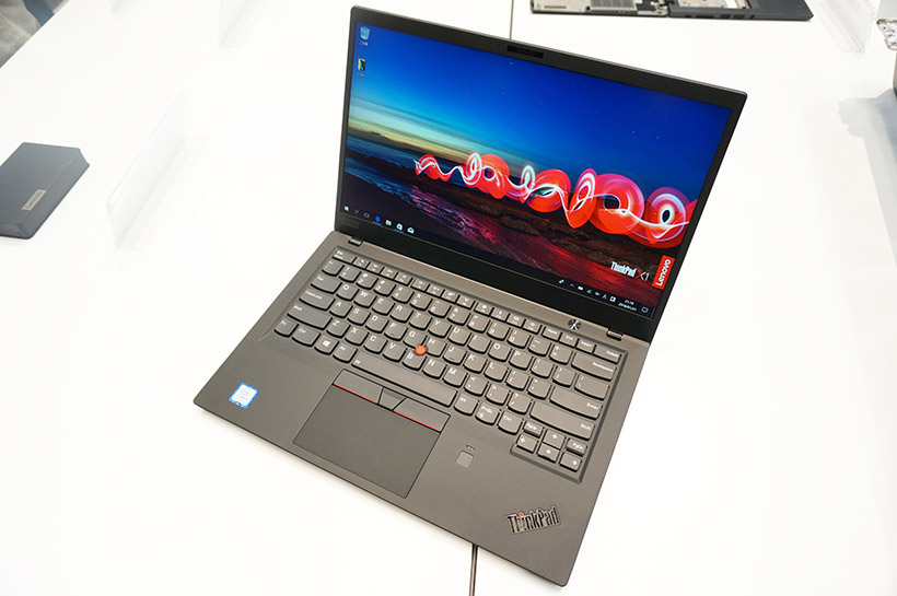 ↑ThinkPad X1 Carbon 2018年モデル