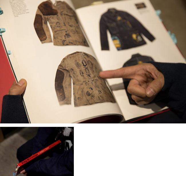 古着好きのバイブルともいえる田中凛太郎著の「King of Vintage」。限定本ながら貴重なアイテムが数多く収録され、世界中の古着マニアに知られている