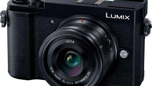 フィルム写真のようなモノクロスナップが楽しめるミラーレスカメラ「パナソニック LUMIX GX7 Mark III」