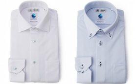 付着した花粉を水に変える! 花粉症も怖くないはるやまのビジネスシャツ「ハイドロ銀チタンi-shirt」