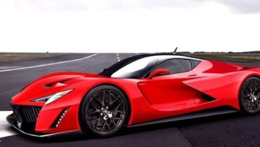 予想価格7,000万円!? トヨタ「GR」初のオリジナル・ハイパーカーとは