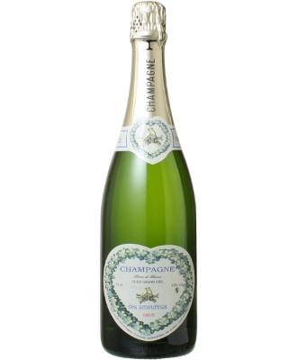 Henry de Vaugency Champagne Cuvée des Amoureux Blanc de Blancs Grand Cru (アンリ・ド・ヴォージャンシー・シャンパーニュ・キュヴェ・デ・ザムルー ブラン・ド・ブラン グラン・クリュ) /輸入元:ヌーヴェル・セレクション