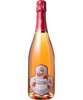 Dauby Champagne Brut Rosé(ドビ・シャンパーニュ・ブリュット・ロゼ) /輸入元:ヌーヴェル・セレクション