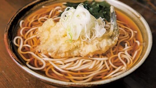 【立ち食いそば】「新鮮な白身の天ぷら」といえばココ! 地元ビジネスマンに愛される本郷の名店