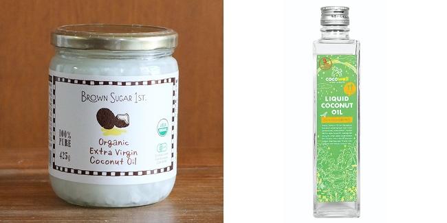 ↑「ココナッツオイルも各社さまざまな味や香りなので、いろいろ試してみてください」