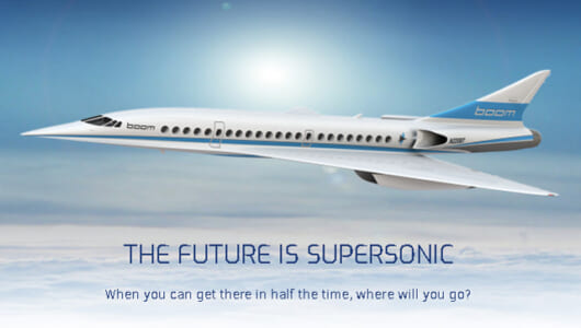 コンコルドの二の舞を回避する! 3Dプリンターを使ってコストを抑えた超音速旅客機を開発する「Boom Technology」