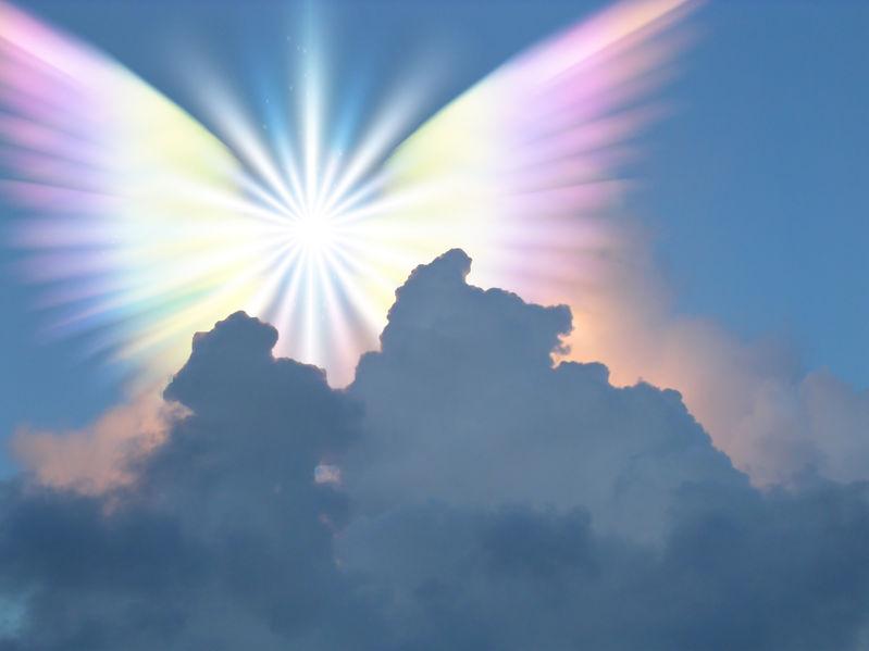 30997809 - supernatural being in sky