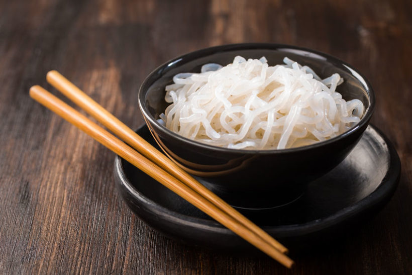 90577788 - shirataki noodles (konjac) - japanese food