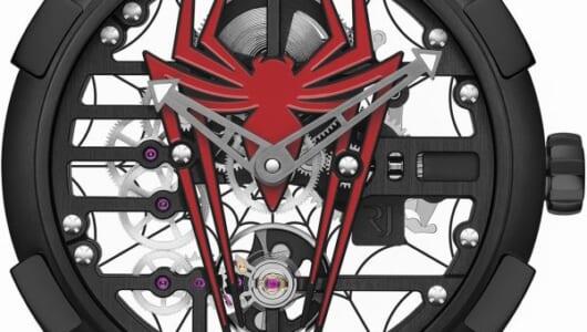 【SIHH2018速報】スパイダーマンが文字盤に出現!? ロマン・ジェロームらしさ全開のユニークコラボが登場