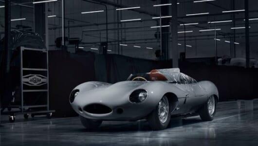 ジャガーが往年の名作レーシングカーを丸々復刻!