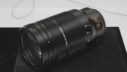 【CP+2018/パナソニック】新レンズ「LEICA DG 50-200mm F2.8-4.0」に注目! LUMIX Gシリーズのラインナップが充実