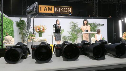 【CP+2018/ニコン】人気のD850をメインに主要レンズのタッチ&トライができるニコンブース
