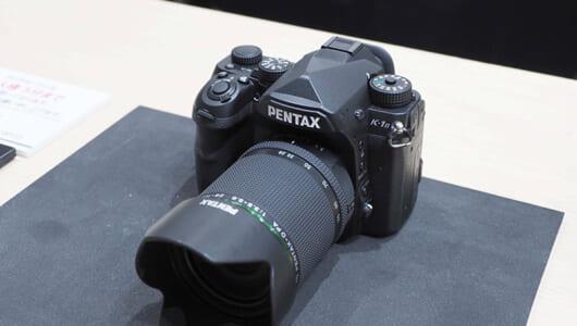 【CP+2018/リコー】フルサイズ一眼レフ「PENTAX K-1 Mark II」と参考出品レンズの体験コーナーが大人気!
