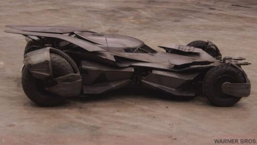 2016年の「バットモービル」はいかにして作られたか? その模様がわかるスケッチ、CADデータ、制作パーツ