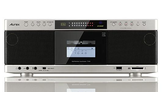新生Aurex第2弾はカセットテープの音声もハイレゾ化してしまうCDラジカセ「TY-AK1」