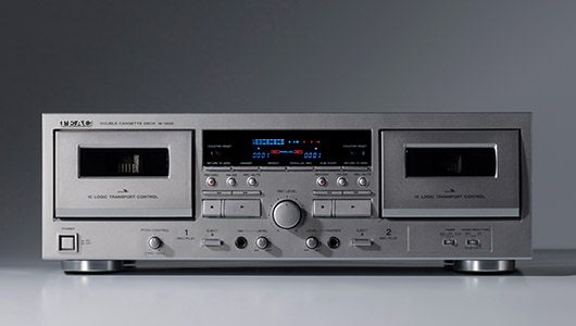 USB出力搭載でデジタル録音もできる! ティアックのダブルカセットデッキ「W-1200」