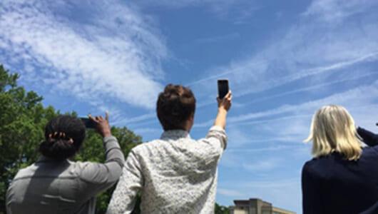 えっ、NASAが雲の写真を募集中? スマホから送るだけで解析に協力できる