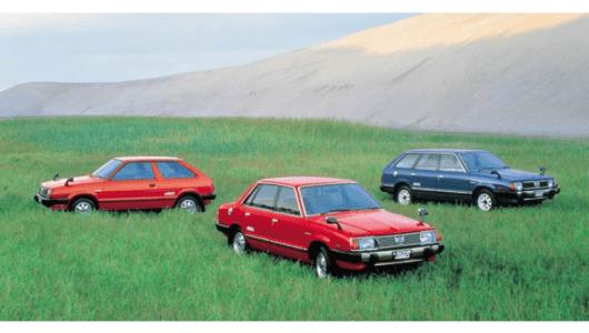 【中年名車図鑑】レガシィへとつながる「水平対向ターボ4WD・ツーリングワゴン」の歴史はここからはじまった