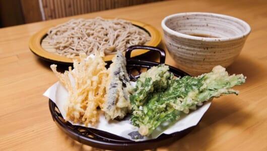 【立ち食いそば】この天ぷら、揚げ具合が絶妙だ…! 「丁寧な仕事」で評価が高い高田馬場の名店