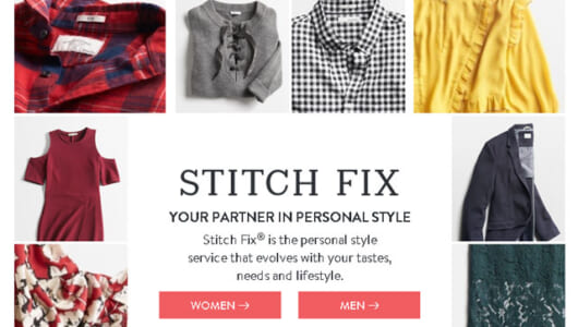 リピート率85%以上! 米国で話題のAIスタイリスト「Stitch Fix」を使ってみた