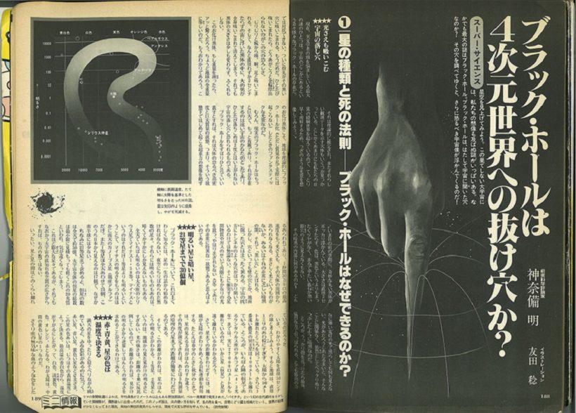 『月刊ムー』1979年11月号(創刊号)より。
