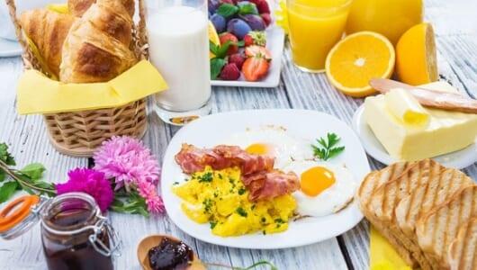 美味しい朝食を想像すれば、朝が待ち遠しくなる!