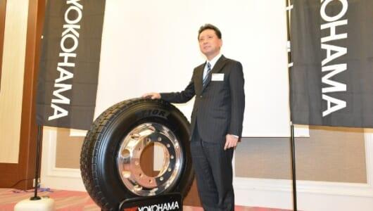 物流を支える足もとに、横浜ゴムが100年の技術力を投入する