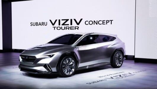 スバルがジュネーブで最新コンセプトカーを初披露!