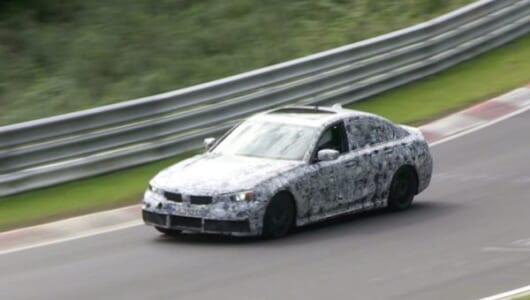 次期型BMW3シリーズの走りを動画でチェック! ニュルブルクリンク高速テストをキャッチ