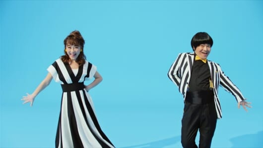 鈴木奈々&加藤諒が華麗なタップダンスを披露