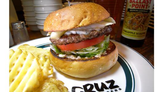 「うちの店はまだまだ旨くなる」――果てなき研究を続ける「CRUZ BURGERS」で最先端のバーガーを堪能せよ!