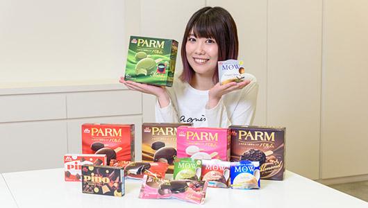 【春アイス】抹茶にコーヒー、ベリーにチーズ――森永乳業の最新アイスを前田玲奈が実食レポート