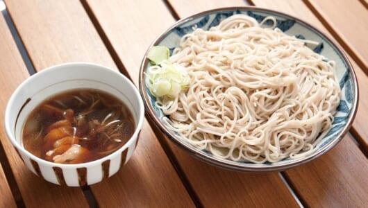 【立ち食いそば】細く美しい麺を見よ! 信州から毎朝届く、上質なそばが鴨のコクとマッチする四ツ谷の名店