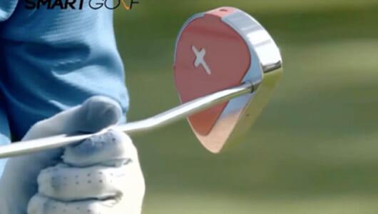 ゴルフの練習もますますスマートに!  LEDライトとレーザーでスイングを改善してくれる「Smart Putter」
