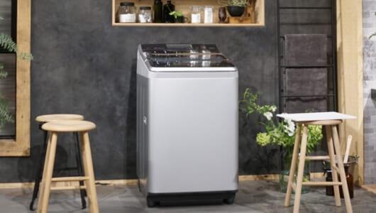 タテ型洗濯機の逆襲が始まった! 「白物」のイメージを覆し「温水洗浄」も追加したパナソニックの新モデル