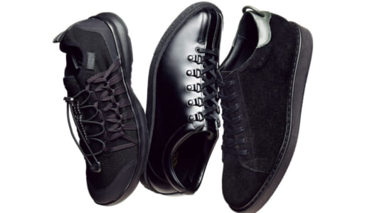 「黒スニーカー」と「白スニーカー」の最旬6足を履き比べ! 今季は「王道モデル以外」が豊富