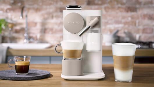 ふわっふわの「泡ミルク」が自宅でも! 約3万円で本格エスプレッソが楽しめるコーヒーメーカー「ラティシマ・ワン」