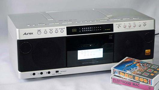"""往年の""""Aurexサウンド""""は健在か? カセットテープの音源までハイレゾ化するCDラジカセ「TY-AK1」を聴く"""